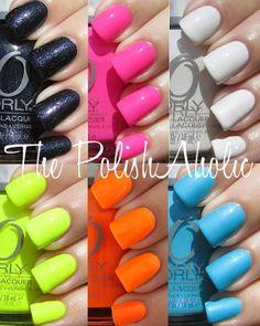 I want the green, orange, and blue! nail-polish-lust