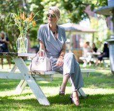 Blogger Sofie Valkiers from Fashionata in By Malene Birger Umpio jumpsuit