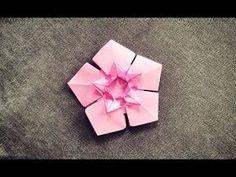 《折纸世界》装饰梅花 - YouTube