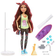 Project Mc2 Doll with Experiment - Camryn's Blueprint Skateboard