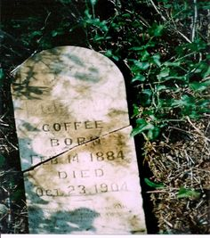 John M. Coffee, 1st cousin, twice removed. © 2014 Jack Coffee. Use with permission only.