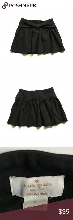 KATE SPADE black girls pleated skirt •Kate spade black pleated girls designer skirt, with a thicker elastic waist band and a little loop in the front to copy the look of a bow •like new condition  •Size 6  •I am a: Posh Ambassador, top 10% seller, top rated seller, Posh mentor & ship same day/next day! ⭐️❤️FREE Matching hair accessory with purchase!❤️⭐️ •Comes from smoke & pet free home •Browse my closet for dozen of amazing designers such as.. tucker + Tate, Tea Collection, Mini Boden, UGG…