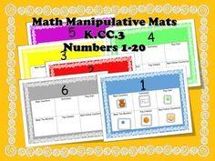 Math Manipulative Mats K.CC.3
