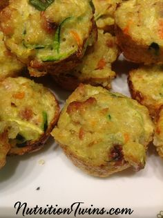 Quinoa Breakfast Nibbles   Only 32 Calories   Grab a few on your way out the door   Perfect morning boost to keep you satisfied & aid weight loss   @egglandsbest  For MORE RECIPES, Fitness and Nutrition Tips please SIGN UP for our FREE NEWSLETTER www.Nutritontwins.com
