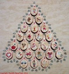 Advent - Cross Stitch Pattern