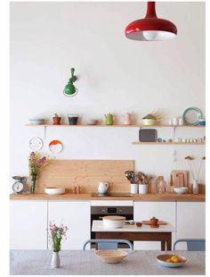 Home Interior Decoration .Home Interior Decoration Bright Kitchens, Home Kitchens, Kitchen Interior, Kitchen Decor, Decorating Kitchen, Quirky Kitchen, Happy Kitchen, Cozy Kitchen, Ikea Kitchen