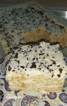 Greek Sweets, Greek Desserts, Frozen Desserts, Greek Recipes, Sweets Recipes, Cake Recipes, Cooking Recipes, Greek Cake, Greek Pastries