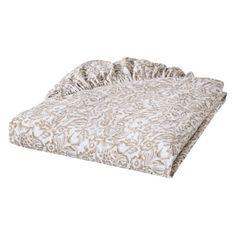 bedding  http://www.target.com/p/linen-ruche-fitted-crib-sheet/-/A-14239689#?lnk=sc_qi_detaillink