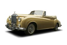 Rolls-Royce made only 12 of the Silver Cloud I Mulliner Drophead Coupe. This one sold for $368,500 in Scotsdale.