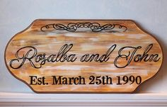 Established Wedding Date Wood Signs!  These hand painted make the most thoughtful gifts for wedding decor, wall hangings, bridal shower, engagement, and anniversaries!  Shop at kerrisartcorner.weebly.com Contact kerrisartcorner@gmail.com  #kerrisartcorner #kac #handpainted #woodsigns #establishedsigns #establisheddates #weddingdatesigns #woodplaques #establishedweddingdatesigns #cutomized #personalized #weddings #weddinggift #personalizedgifts #weddingdecor #engagementgift #engagementdecor