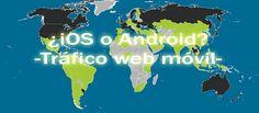 iOS Domina el Tráfico Web en los Mercados de Occidente Ios 7, World Market, Western World, Dominatrix