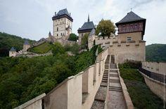 Чехия. Карлштейн -замок  Звиков