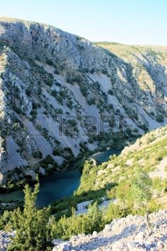 Canyon of Zrmanja river, Croatia