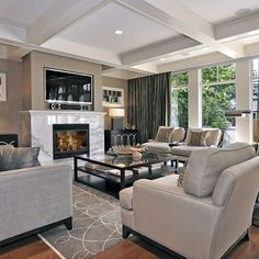 Contemporary Living Room Design, Pictures, Remodel, Decor and Ideas