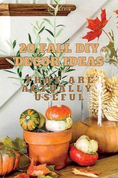 Fall Pumpkin Crafts, Pumpkin Vase, Pumpkin Topiary, Pumpkin Centerpieces, Fall Crafts, Fake Pumpkins, Fabric Pumpkins, Painted Pumpkins, How To Make Potpourri