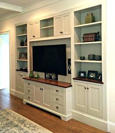 Home entertainment furniture plans elegant entertainment center awesome entertainment center wall unit plans for your small . home entertainment furniture Built In Tv Cabinet, Built In Wall Shelves, Built In Wall Units, Tv Cabinet Design, Built In Cabinets, Recessed Shelves, Storage Cabinets, Tv Wall Units, Corner Tv Cabinets