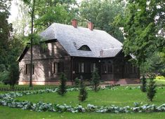 Manor Houses, Small Houses, Cottage Homes, Warm And Cozy, Cottages, Poland, Building A House, Cabin, Country