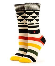 Stance Tomahawk Tribal Crew Socks at Zumiez : PDP
