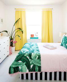 Vintage California Style Bedroom Decor