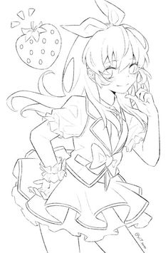 Lineart Anime, Anime Girl Drawings, Anime Poses, Yahoo, Women, Drawing Drawing, Woman