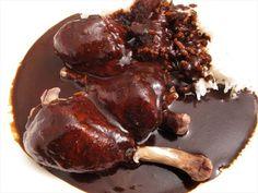 Chicken Breasts in Ginger Mole (Mole de Jengibre con Pechugas de Pollo ...