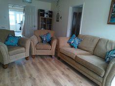 beige / camel 3pce suite Sofa, Couch, Camel, Beige, Ebay, Furniture, Ideas, Home Decor, Settee