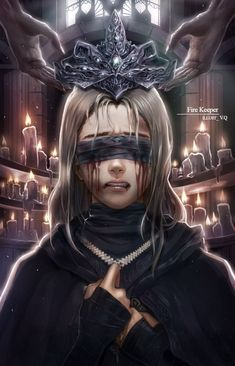 ArtStation - Fire Keeper (Dark Souls Amethyst V.QYou can find Dark fantasy art and more on our website.ArtStation - Fire Keeper (Dark Souls Amethyst V.Q Dark Fantasy Art, Fantasy Artwork, Anime Fantasy, Dark Souls 3, Fantasy Inspiration, Character Inspiration, Art And Illustration, Fantasy Character Design, Character Art
