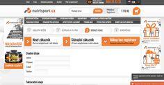 E-shop NUTRISPORT je produce sportovní a fitness výživy. Sport, Fitness, Shopping, Deporte, Sports