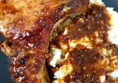 Χοιρινές μπριζόλες στο τηγάνι με μέλι και μουστάρδα συνταγή από Κωνσταντίνα - Cookpad Lasagna, Ethnic Recipes, Food, Essen, Meals, Yemek, Lasagne, Eten