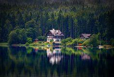 Waldesnacht, Du Wunderkühle, Lake district in Austria