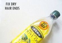 HOW TO FIX DRY HAIR ENDS NATURALLY