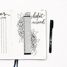 A little late but March habit and mood tracker The petals on the flowers represent my moods, what colors should I choose?