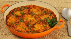 Easy Chicken Cacciatore - Recipes - Best Recipes Ever - Inspired by sunny Italy, our flavourful chicken cacciatore is rich with herbs and spices that are both healthy and savoury.