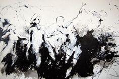 "Saatchi Online Artist Stephanie Kristofic; Painting, ""Dancefloor 2"" #art"
