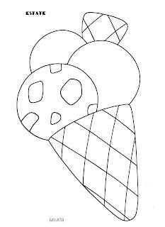 Ape disegno da colorare e ritagliare ape for Maestra sandra pasqua