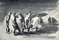A note on the Polish-British painter Feliks Topolski and the exhibition of his drawings at the Jagellonian University in Cracow, Poland, in (in Polish) Gravure, Journalism, New Art, Sculptures, Arts And Crafts, Paintings, Drawings, Illustration, Sketch Drawing