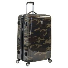 Ful 29 Abs Expandable Hardside Spinner Luggage - Camo, Camo 1