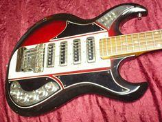 Vintage 1960s Apollo Guitar 4 Pickup Wayy Cool