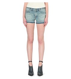 ALLSAINTS Kim denim shorts. #allsaints #cloth #trousers