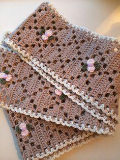 Sjaal voor m'n schoonmoeder gemaakt