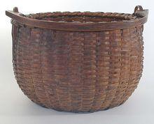 Ash Splint Gathering Basket