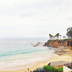 pretty beach scene