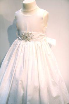 Pure Cotton Flower Girl Dress Summer flower girl by gillygray, $79.00