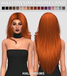 Sims 4 CC's - The Best: Homeland Hair by HallowSims