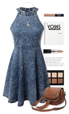 """""""Cowgirl"""" by hevsyblue2 ❤ liked on Polyvore featuring Anastasia Beverly Hills, MAC Cosmetics, NARS Cosmetics, Denimondenim and yoins"""