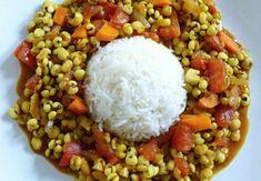 Slzovka se zeleninou na kari « Slzovka Grains, Rice, Food, Essen, Meals, Seeds, Yemek, Laughter, Jim Rice
