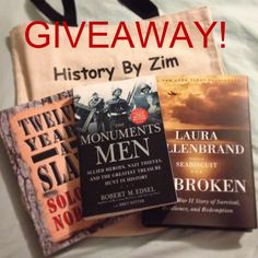 To celebrate History By Zim reaching 2,000,000 views, we are having a giveaway! I have decided to call it the 'Read it before you see it' giveaway since it involves three books that Hollywood has turned (or is currently turning) into films. (Follow the link to enter!)