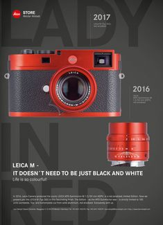 Coming soon: Leica M Typ 262 red anodized aluminum limited edition camera | Leica Rumors