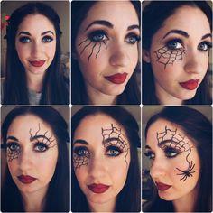 spider web face - Google Search