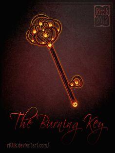 Burning Key by Rittik on DeviantArt
